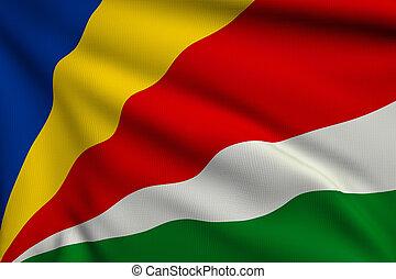 vlag, seychellen