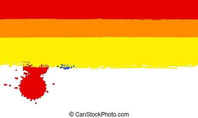 vlag, trots, vrolijk