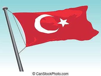 vlag, turkse