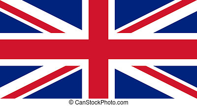 vlag, unie, uk, dommekracht