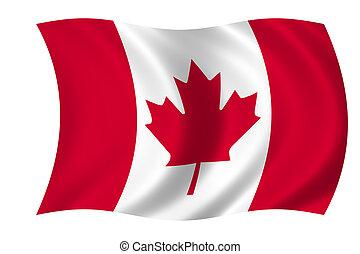 vlag, van, canada