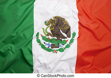 vlag, van, mexico