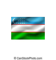 vlag, van, uzbekistan.
