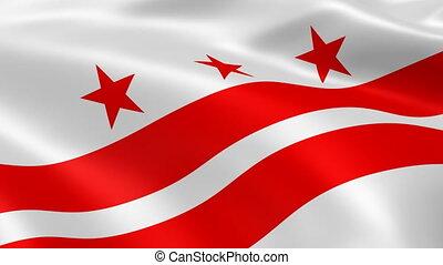 vlag, washington, wind