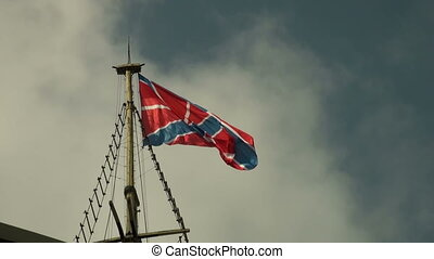 vlag, wind