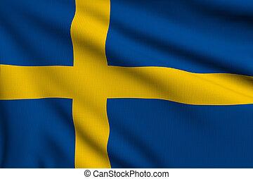 vlag, zweden