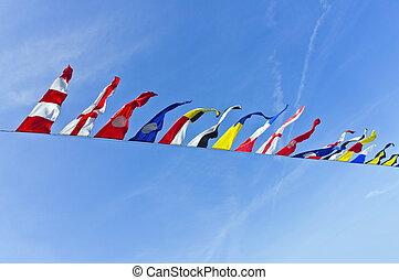 vlaggen, nautisch