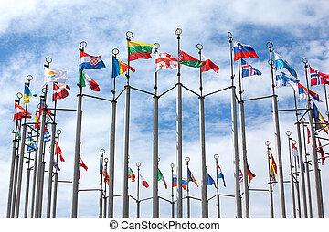 vlaggen van de wereld