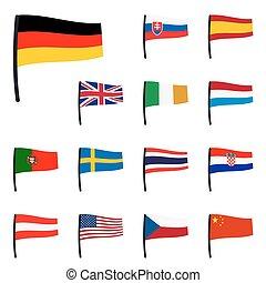 vlaggen, verzameling
