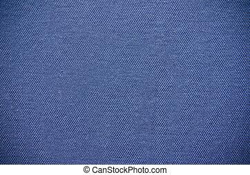 vlakte, blauwe stof, textuur