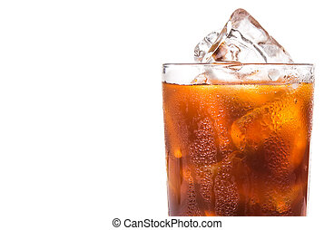 vlakte, koffie, iced