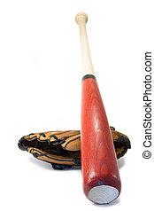 vleermuis, honkbal glove