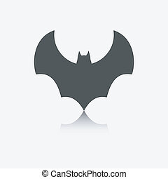 vleermuis, pictogram