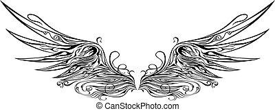 vleugel, 1