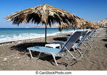 vlichada, spiaggia
