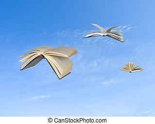 vliegen, boekjes