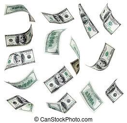 vliegen, dollars