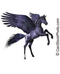 vliegen, pony