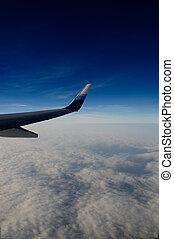 vliegtuig, aanzicht