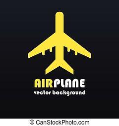 vliegtuig, achtergrond