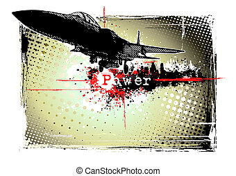 vliegtuig, frame