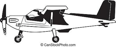 vliegtuig, particulier