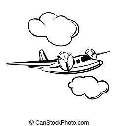 vliegtuig, propeller