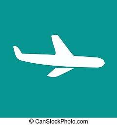 vliegtuig, symbool