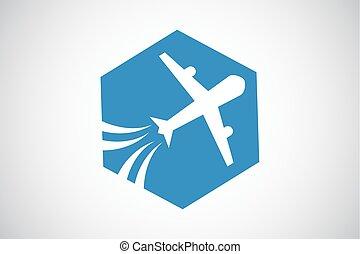 vliegtuig, toerisme, reizen