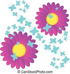 witte achtergrond tekening bloemen - photo #24
