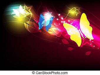 vlinder, opmaak, ontwerp