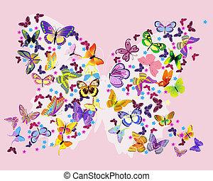 vlinder, vlinder