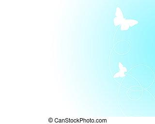 vlinder, zacht, achtergrond