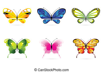 vlinders, satz