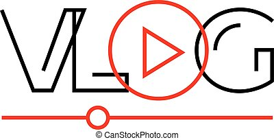 vlog-red-line-font-icon.eps
