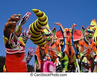 vlotter, carnaval