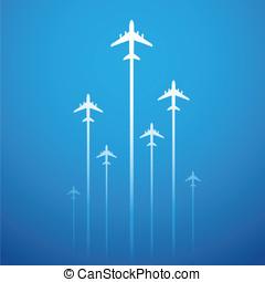 vlucht, lucht