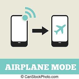 vlucht, vliegtuig, wijze, -