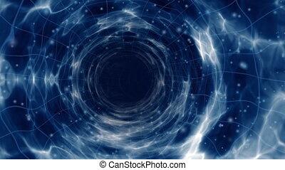 vlucht, wormhole