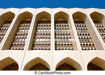 Islamique moderne porte design porte cristal mosqu e for Architecture islamique moderne