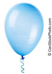 voando, balloon, isolado