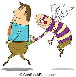 voando, pickpocket