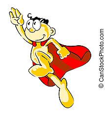 voando, superhero