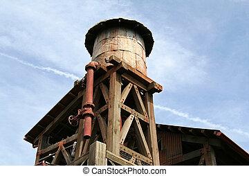 vodárenská věž, dávný