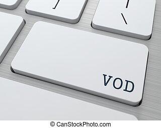 vod., informática, concept.