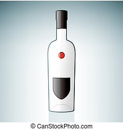 vodka, botella
