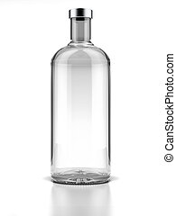vodka, flaska