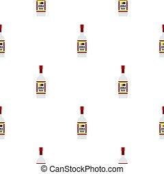 Vodka pattern flat