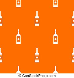 Vodka pattern seamless