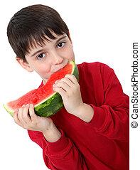 vodní meloun, sluha